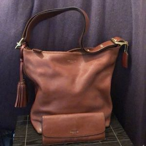 Coach crossbody or shoulder bag